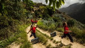 Culebrilla, Wenezuela. Lekcja wychowania fizycznego w jednej z miejscowych szkół podstawowych