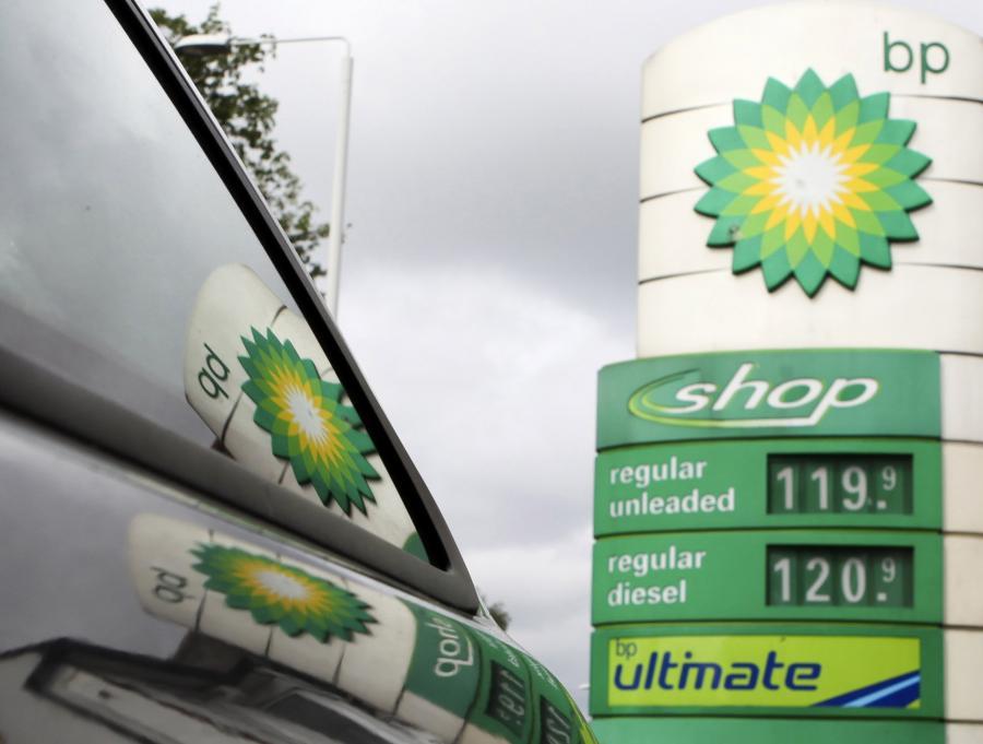 Stacja benzynowa koncernu BP