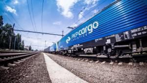 PKP Cargo - pociąg towarowy