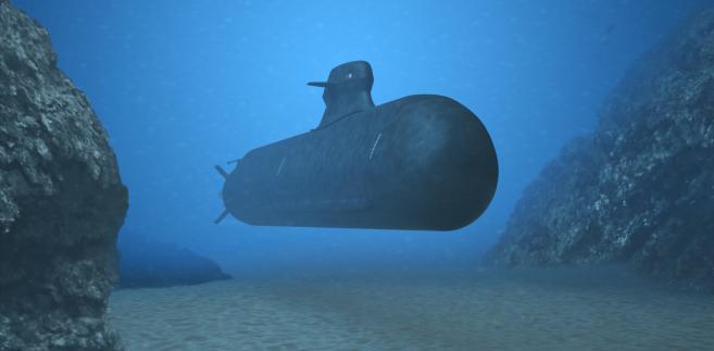 Wizualizacja nowego okrętu podwodnego Saab A26. Fot. Materiały prasowe SAAB