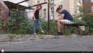 Screen ze spotu Stop dopalacom GIS, źródło: YouTube