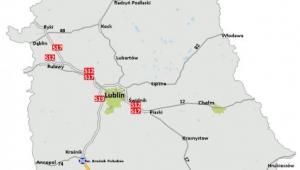 GDDKiA ogłosiła przetarg na odcinek S19 Kraśnik - granica woj. podkarpackiego