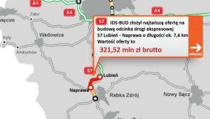 S7 Lubień - Naprawa