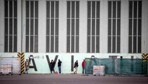 Uchodźcy w Berlinie EPA/KAY NIETFELD Dostawca: PAP/EPA.