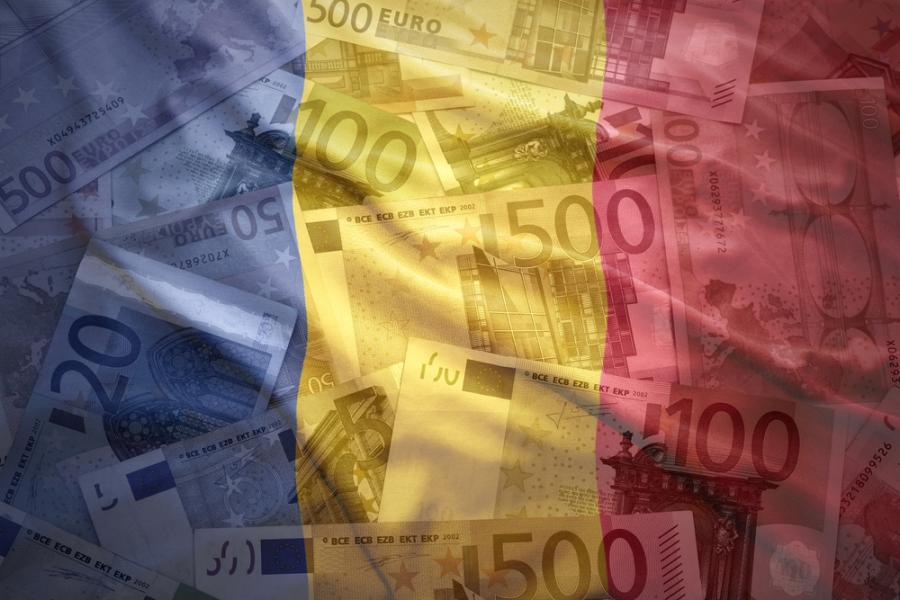 Rumunia, euro, flaga