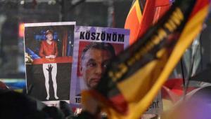 Demonstracje przeciwników imigrantów w Lipsku EPA/JAN WOITAS Dostawca: PAP/EPA.