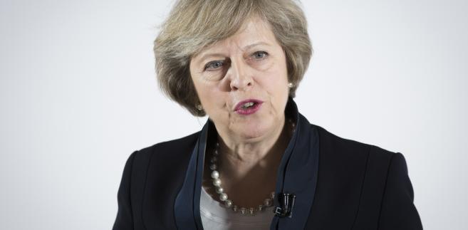 Theresa May w czasie konferencji prasowej w Birmingham, Wielka Brytania, 11.07.2016