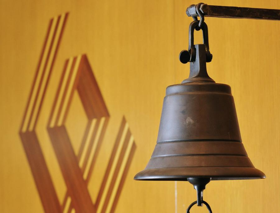 Dzwonek na Giełdzie Papieów Wartościowych fot. John Guillemin/Bloomberg News