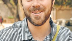 Liam Wyatt, koordynator Wikimedia dla Europeany, czyli biblioteki cyfrowej europejskiego dziedzictwa kulturowego oraz twórca programu GLAM (Gallery, Library, Archive and Museum), czyli współpracy Wikimedii z muzeami, galeriami i bibliotekami fot. HPNadig/Wikimedia