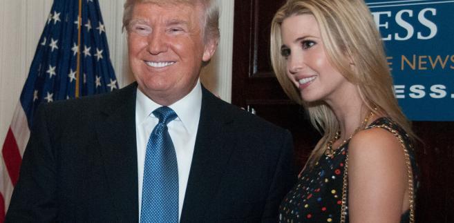 Donald Trump z córką Ivanką