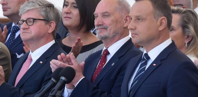 Paweł Soloch, Antoni Macierewicz, Andrzej Duda