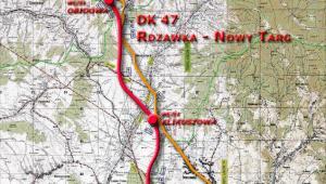 DK47 Rdzawka - Nowy Targ