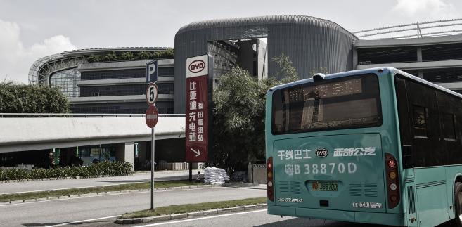 Bloomberg autobusy Shenzhen