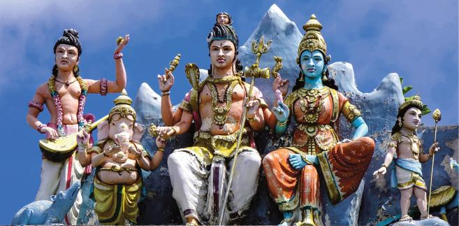 Hinduska świątynia na Mauritiusie fot. Phuong D. Nguyen/Shutterstock