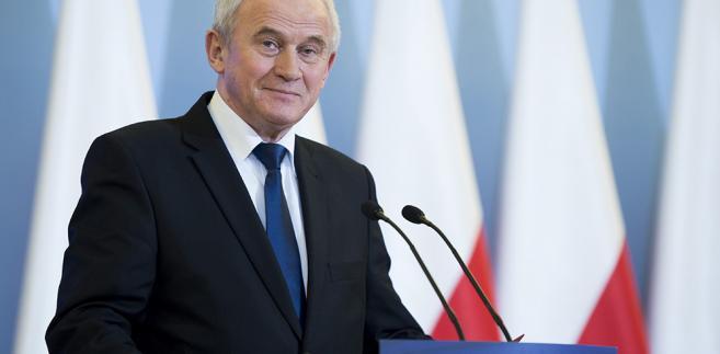 Minister Krzysztof Tchórzewski, fot. P. Tracz/KPRM