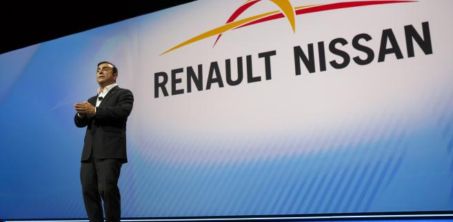 Carlos Ghosn, prezes Renault i Nissana