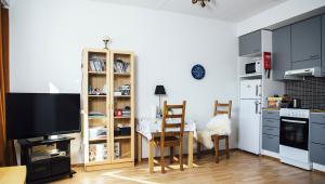 Jedno z mieszkań w ośrodku mieszkań wspieranych Väinölä. Zdj. Y-Foundation/ Vilja Pursiainen