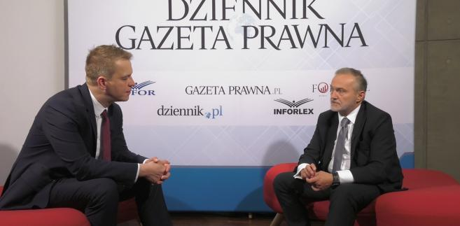 Marek Tejchman i Wojciech Szczurek