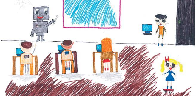 Rysunki wykonali: Ada Olasek (11 lat), Hanna Kościuszko (10 lat)