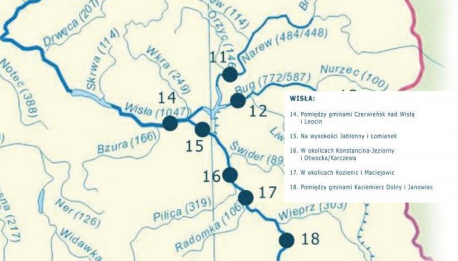 Program mosty dla regionów woj. mazowieckie - źródło: Ministerstwo Inwestycji i Rozwoju