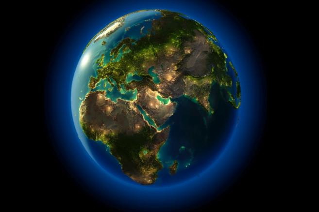 Kula ziemska, ziemia, świat