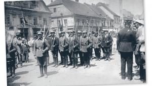 III powstanie śląskie. Oddział powstańczy w Rybniku, 1921 r. fot. mat. prasowe