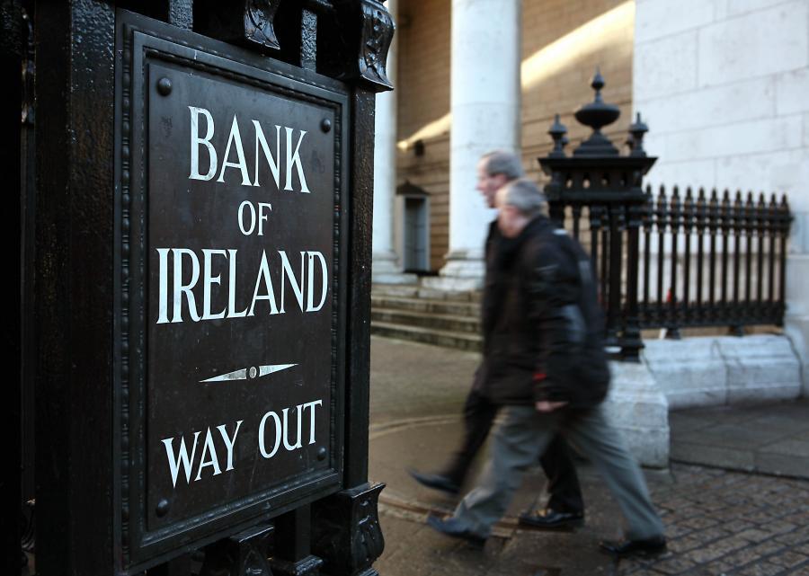 Pomoc dla irlandzkich banków