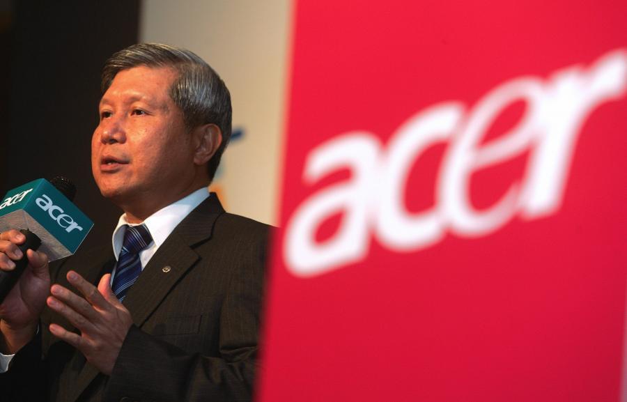 prezes Acer Inc. Wang Chen-Tang. fot. Bloomberg