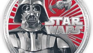 Moneta ze Star Wars fot. Materiały prasowe