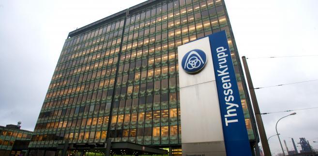 Główna siedziba ThyssenKrupp w Duisburgu w Niemczech