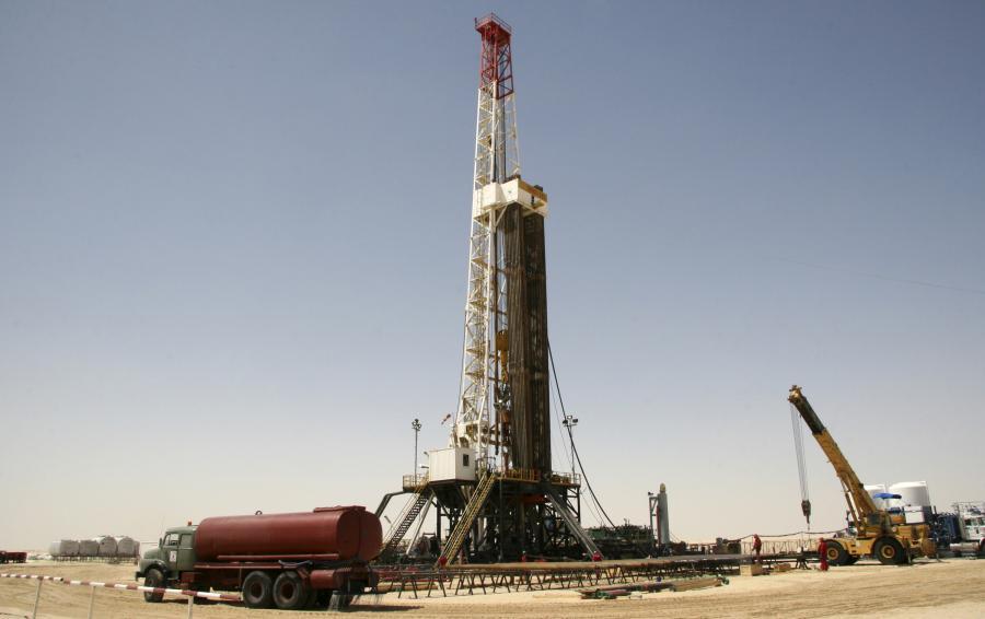 Wydobycie ropy w Libii, fot. Bloomberg