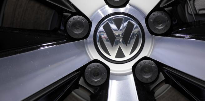 Logo Volkswagena, fot. Jason Alden/Bloomberg