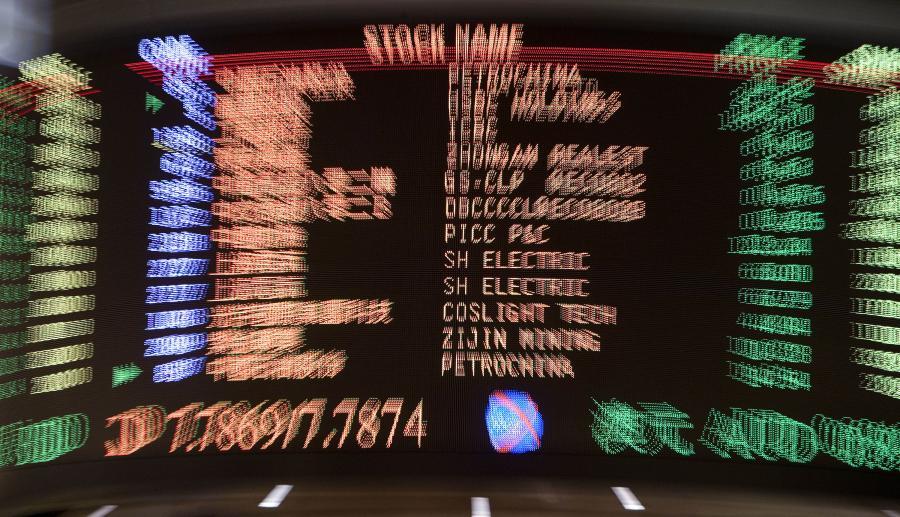 Indeks giełdy w Hongkongu