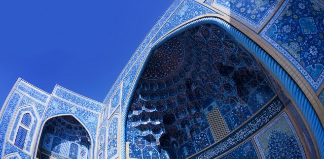 Meczet w Isfahanie, Iran, fot. szefei