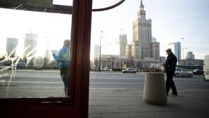 Widok na centrum Warszawy.  Fot. Bartek Sadowski/Bloomberg