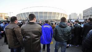 Wejście na Stadion Olimpijski w Kijowie