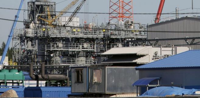 Przepompownia w miejscowości Portovaja gazociągu Nord Stream w Rosji.