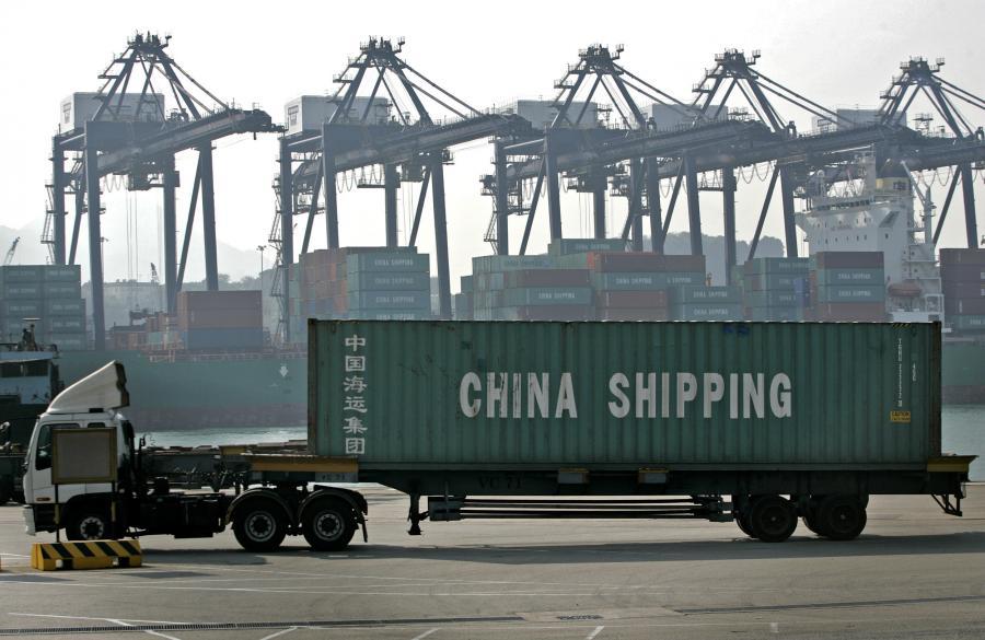 Port kontenerowy w Hongkongu