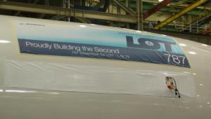 Drugi Boeing 787 Dreamliner LOT-u na linii produkcyjnej (4)
