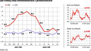 Jak rosną ceny konsumenckie i producenckie